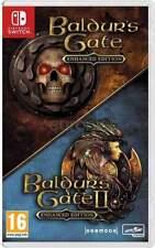 Baldur's Gate - Enhanced Edition (Nintendo Switch, 2019) Brand New - Region Free