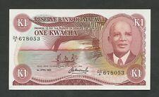 MALAWI  1 kwacha  Apr 1984  P14g  Uncirculated   World Paper Money