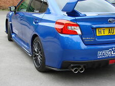 Subaru Impreza WRX STi 2015 Side skirt Extensions & Rear Lips to fit 2014 onward