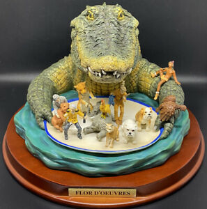 Florida Gators Flor D'Oeuvres Ridgewood Collectibles Statue Hand Painted/Number