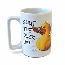 Shut the Duck Up Sound Mug by Big Mouth Toys