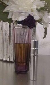 LANCOME TRESOR MIDNIGHT ROSE PERFUME filled atomizer TRAVEL SPRAY 5 ml