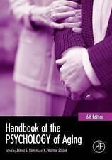 Manuel de la Psychologie du vieillissement (Manuels du vieillissement),, New Book