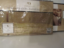 "VERATEX KING PILLOW SHAM  ISLAND AIRE  21""X36"" QUEEN KING BED TWO NEW"