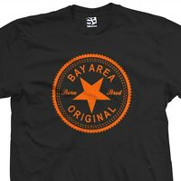 Bay Area Original Inverse T-Shirt - Born and Bred in SF Tee - All Size Colors