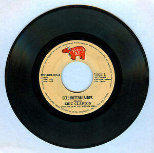 Philippines ERIC CLAPTON Bell Bottom Blues 45 rpm Record