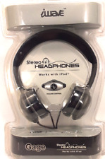 Gage iWave Stereo Headphones for iPod & MP3 Players Model HP0526