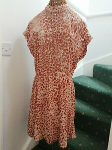 Plumo Second Female velvet burnout Dress Sz L - 40