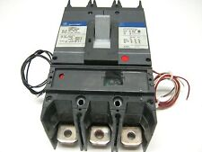 GE SGHA36AT0400 Spectra RMS 400A 600V Circuit Breaker shunt trip & aux contact ~