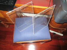 """Acrylic/Heavy Plastic Sign Holder Picture Frame Photo Display Size 8'' X 11"""" (2)"""