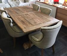 Florentine Farmhouse Hampton Style Rustic Dining Table
