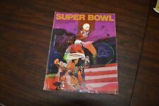 Vintage Super Bowl IV 4th Program Chiefs v Vikings 1/11 1970 Tulane Stadium