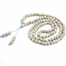 Star&Moon Bodhi Seed Tibet Buddhist 108 Prayer Beads Mala Necklace