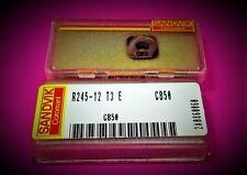 2st Sandvik Wendeplatten R245-12 T3 E CB50 Wendeschneidplatten  R245-12T3E CB50