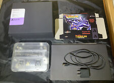 Analogue Super NT Transparent/Clear w/ Turrican Box Rarely Used