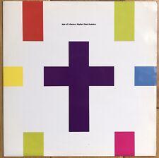 "Age Of Chance –Higher Than Heaven 12"" Vinyl Old Skool Leftfield Hip Hop 1990 EX"