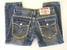True Religion Billy Super T Capri Jeans Women's/Juniors Size 27 Stretch