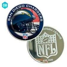 US NFL Souvenir Coin 999.9 Silver Plated SAN DIEGO CHARGERS Creative Coin Gifts
