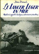 """Livre Ancien Pêche """" Le Lancer Léger en Mer - J. Demil """" ( No 1270) Book"""