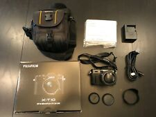 Fujifilm X-T10 16MP Fuji X SLR Camera - w/ Box, Battery & Charger - BARELY USED
