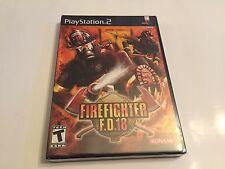 Firefighter F.D.18 Sony PlayStation 2 2004 Konami FD18 PS2 New Sealed