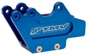 TMV Blue Aluminum Swingarm Lower Chain Guide Block For 96-05 Yamaha YZ 125 250