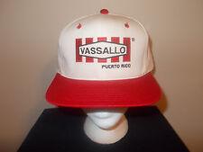 VTG-1990s Vassallo Puerto Rico PVC injections pipes factory snapback hat sku6