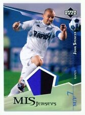 """JOHN SPENCER """"2 COLOR JERSEY"""" UD MLS SOCCER 2004"""
