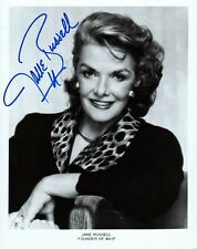Howard Hughes Discovery JANE RUSSELL Signed Photo