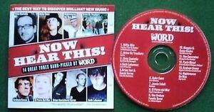 Now Hear This Elvis Costello Seth Lakeman Brian Eno CD