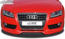 RDX Frontspoiler AUDI A5 B8 8T3 8F7 8TA (-2011) Front Spoiler Lippe Vorne Ansatz