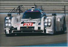 Mark WEBBER Signed Autograph Photo AFTAL COA PORSCHE FIA World Endurance RARE