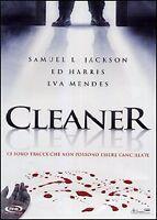 DVD Cleaner (2007) Eva Mendes Film Thriller Giallo d'azione Cinema Video Movie