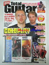 TOTAL GUITAR Magazine 101 2002 +cd Coldplay Bon Jovi Santana Oasis The Offspring