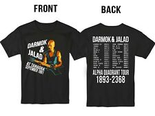New Darmok and Jalad at Tanagra T Shirt S-5XL Funny Parody Front Back