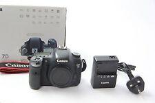 Cámara SLR Canon EOS 7D 18.0MP Digital (Cuerpo únicamente) - buenas Condiciones, GRADE B