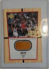 2000 Upper Deck MICHAEL JORDAN * MJ's FINAL FLOOR Card FF4 game used LAST DANCE