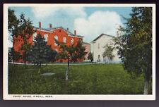 1929  O'Neill NEBRASKA NE Court House Postcard PC