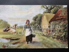 Old PC - 'The Milkmaid' by J.W.B. Series No.310