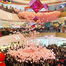 Balloon Drop Net White Storage Carrier Birthday Wedding Party Celebrations Event