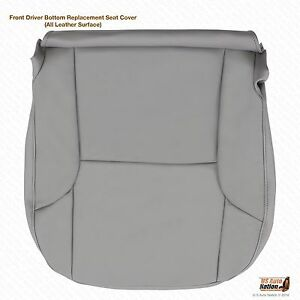 Driver Bottom Replacement Leather Cover Gray Fits 2003 2004 2005  Toyota 4Runner