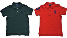 Boys' Polo Neck Casual 100% Cotton T-Shirts, Tops & Shirts (2-16 Years)