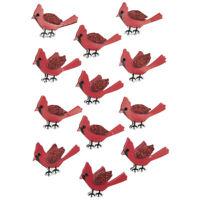 Vinyl Sticker Gift Snow Winter in Memory of Lost of Loved One Cardinal Bird