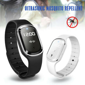 Ultrasonic Anti Mosquito Insect Repellent Repeller Wrist Bracelet Band Baby Adul