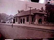 Railroad Postcard Colorado & Southern Depot Loveland Colorado
