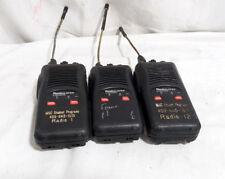 LOT OF 3 - Radius SP50 by Motorola P94YQ820A2AA Moderately Sized Radios