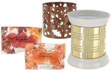 HomeWorx by Harry Slatkin FragranceWarmer with 2 Sleeves and 12 Gelables