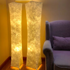 UK Standard Floor Lamp LED Bulb Fabric Lighting Lamps Hotel Living Room Bedroom