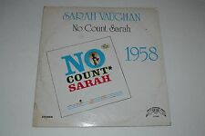 Sarah Vaughan~No Count Sarah~Trip TLP-5562~Jazz~1975 Reissue~FAST SHIPPING!
