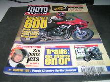 *** Moto Magazine n°147 Muz 660 Mastiff / Aprilla 250 R8 / Harley - Davidson